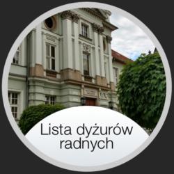 Lista Dyżurów Radnych