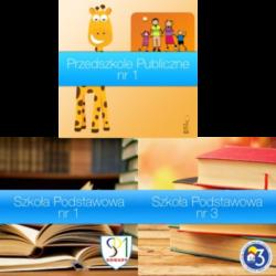 Przedszkole Publiczne, Szkoła Podstawowa nr 1 i nr 3
